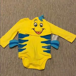 Flounder The Little Mermaid Disney Baby outfit
